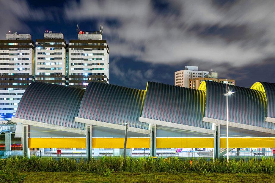 Метро в аэропорт Сальвадора
