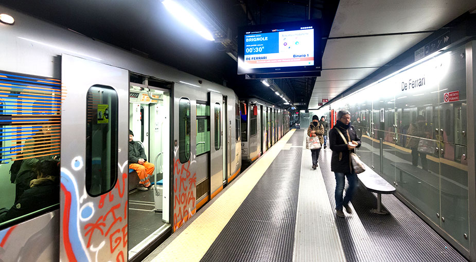 метро Генуи