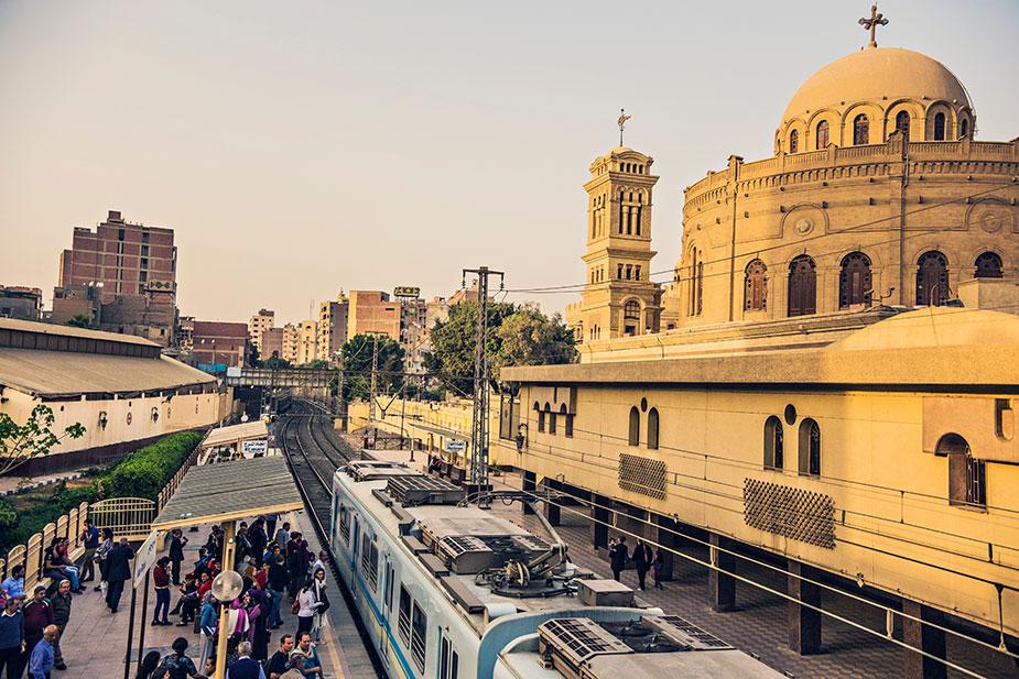 Метро в Каире