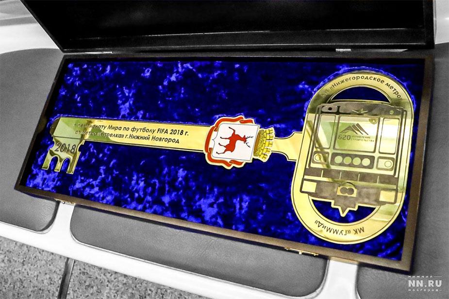 Ключ метро Стрелка
